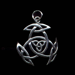 Charmed Pendant Sterling Silver