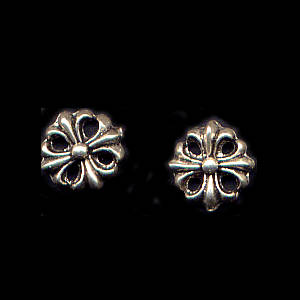 Celtic Sterling Silver Post Earrings