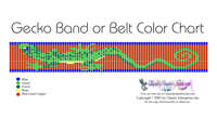 Gecko Belt Bead Graph