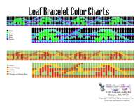 Leaves Bracelet Bead Graph