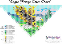 Eagle Fringe Bead Graph