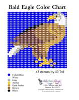 Bald Eagle Bead Graph