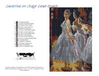 Ballerina On Stage Bead Graph