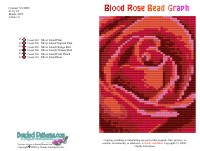 Blood Rose Bead Graph