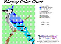 Blue Jay Bead Graph