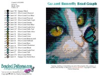 Cat and Butterfly Bead Graph
