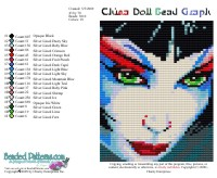 China Doll Bead Graph