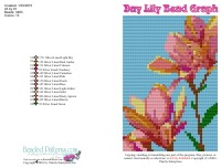 Day Lily Bead Graph