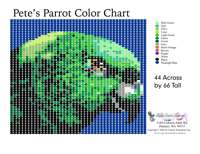 Petes Parrot Bead Graph