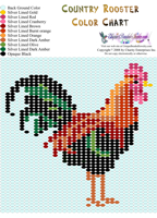 Rooster Bead Graph