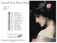 Spanish Rose Bead Graph