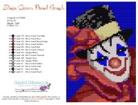 Stage Clown Bead Graph