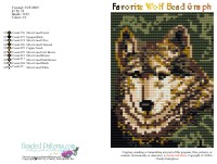 Favorite Wolf Bead Graph