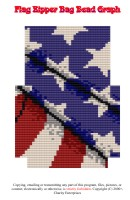 Flag Blackberry Bag Bead Graph