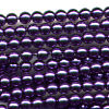 100 3mm Purple Pearl