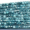 100 3mm Mint Sparkle