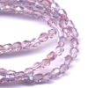 50 4mm Light Amethyst Faceted