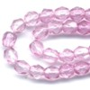 50 4mm Light Rose Faceted