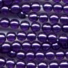 50 4mm Deep Purple Pearl Round