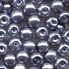 50 4mm Grey Pearl Round