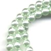 50 4mm Light Mint Pearl Round