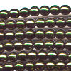 50 4mm Olive Pearl Round