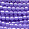 50 4mm Baby Purple Pearl Round