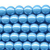 50 5mm Light Blue Round