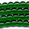 25 6mm Forest Green Round