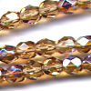 25 6mm Maple Sparkle Faceted