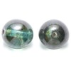 10 Green Marble Dangles 12mm Beads