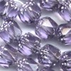 20 Amethyst with Silver Cap 10mm Beads