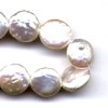 10 Coin Pearl Dimpled 11mm