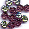 25 Amethyst Small Flower 5mm