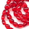 25 Red Hearts 6mm