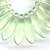 25 Light Green Spears 5x16mm