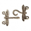 Dragonfly Hook and Eye Clasp Gold Colored