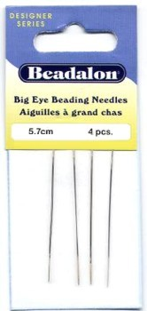 Beadalon Beading Needles 4 pack