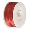 1 Bobbin of Burnt Orange Nymo Thread #D 64 yards