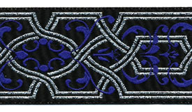Blue Celtic Ribbon, per 12 inches