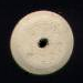 White Disk Wood 4X16mm #1