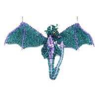 3D Teal Dragon