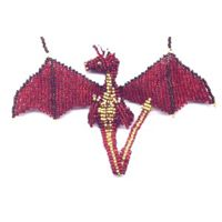 3D Red Dragon