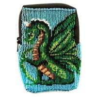 Cute Dragon Zipper Bag