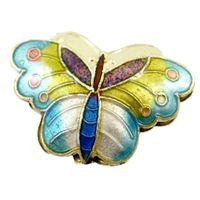 Cloisonné beads that we are most familiar with here in the US 