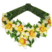 Daffodil Weave Necklace by Dragon
