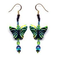 Butterfly Green Sequin