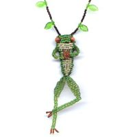 3D Beaded Frog