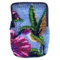 Hummingbird Zipper Bag by Dragon