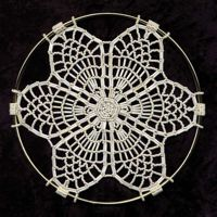 "Pineapple Lace SunCatcher 7"" Ring"